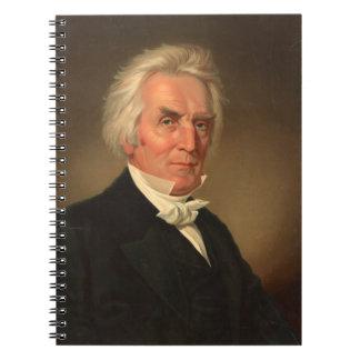 Alexander Campbell head-and-shoulders portrait Spiral Notebook