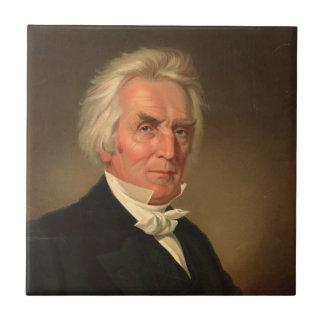 Alexander Campbell head-and-shoulders portrait Tile