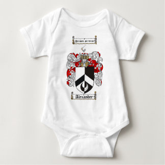 Alexander Coat of Arms / Alexander Family Crest Baby Bodysuit