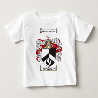 Alexander Coat of Arms / Alexander Family Crest Baby T-Shirt