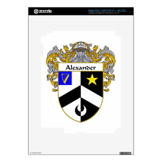 Alexander Coat of Arms/Family Crest iPad 3 Skin