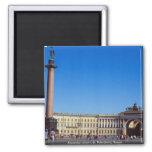Alexander column, St. Petersburg, Russia Fridge Magnet