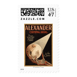 """Alexander, Crystal """"Cradle to the Grave"""" Magic Postage"""