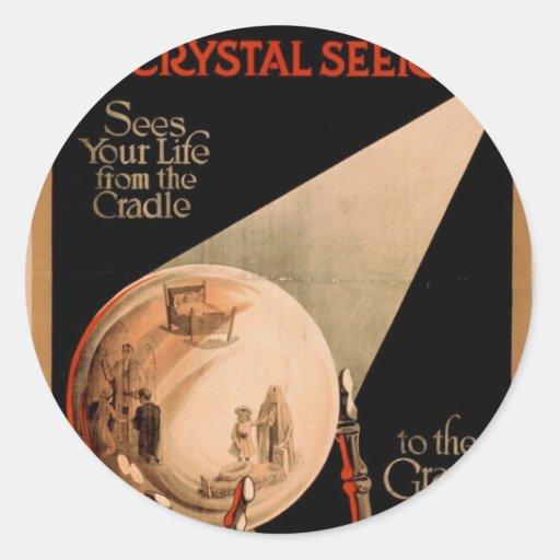 Alexander Crystal Seer Classic Round Sticker