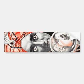 Alexander, Crystal Seer Knows, Sees, Tells All Bumper Sticker