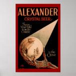 Alexander Crystal Seer Magic Poster
