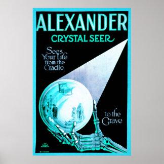 Alexander Crystal Seer Vintage Poster