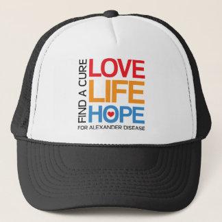 Alexander disease awareness cap hat - find a cure!