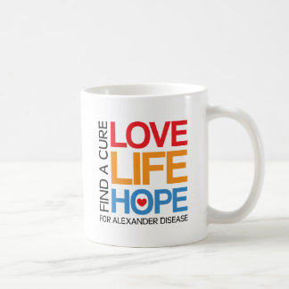 Alexander disease awareness cup - find a cure!