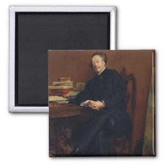 Alexander Dumas Fils  1877 Magnet