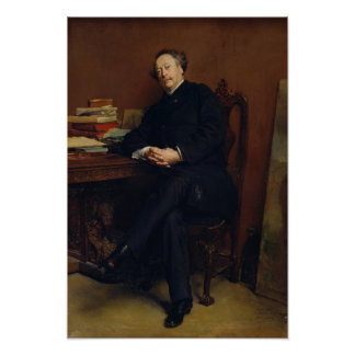 Alexander Dumas Fils 1877 Poster