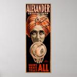 Alexander el adivino cristalino posters