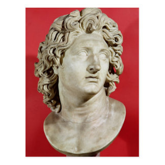 Alexander el gran rey de Macedonia Tarjeta Postal