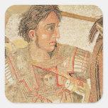 Alexander el grande 'del Alexander Pegatina Cuadrada