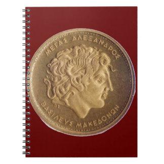 Alexander el grande, rey de macedonios libreta