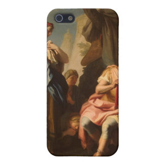 Alexander el grande y la esposa Roxanne iPhone 5 Carcasa
