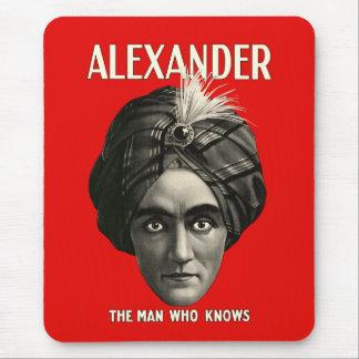 Alexander - el hombre que sabe alfombrilla de raton