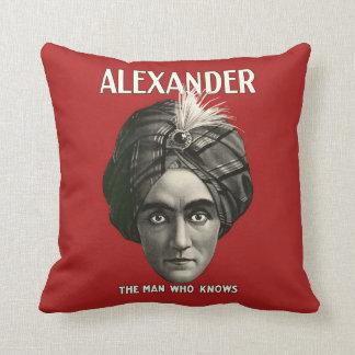 Alexander el hombre que sabe - almohada