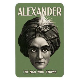 Alexander - el hombre que sabe - imán