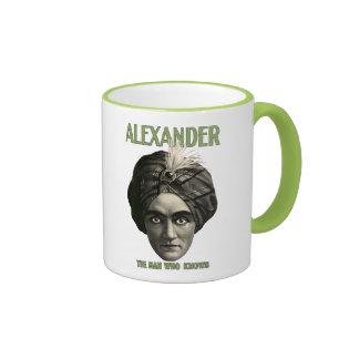 Alexander - el hombre que sabe la taza