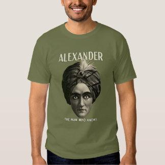 Alexander - el hombre que sabe remeras