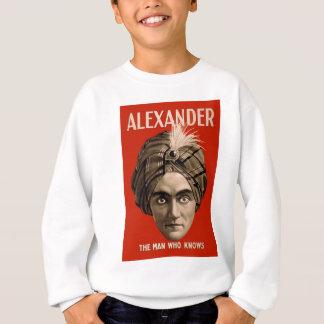 Alexander el hombre que sabe sudadera