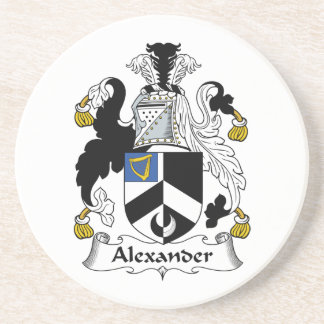 Alexander Family Crest Drink Coasters