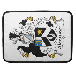 Alexander Family Crest Sleeves For MacBook Pro