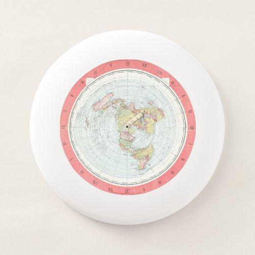 ALEXANDER GLEASON NEW WORLD MAP FRISBEE