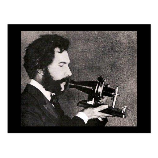 Alexander Graham Bell Post Card