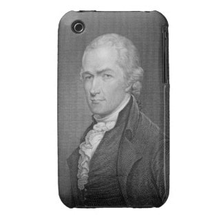 Alexander Hamilton (1757-1804) engraved by John Fr iPhone 3 Cases