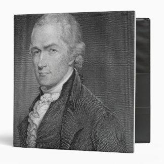 "Alexander Hamilton (1757-1804) grabado por Juan Carpeta 1 1/2"""