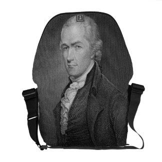Alexander Hamilton (1757-1804) grabado por Juan fr Bolsas Messenger
