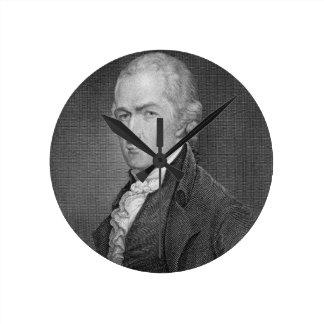Alexander Hamilton (1757-1804) grabado por Juan fr Reloj Redondo Mediano
