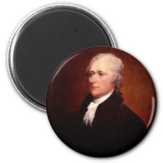 Alexander Hamilton 2 Inch Round Magnet