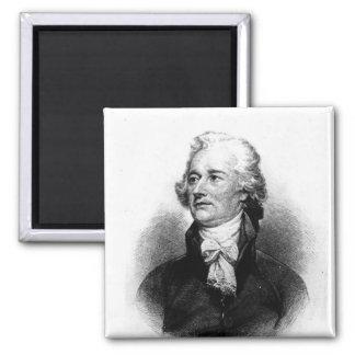 Alexander Hamilton 2 Inch Square Magnet