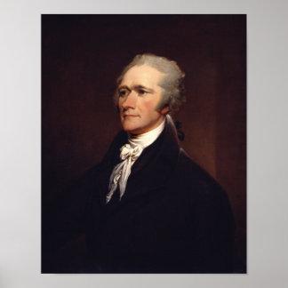 Alexander Hamilton de Juan Trumbull Póster
