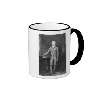 Alexander Hamilton, después de la pintura de 1792 Taza De Dos Colores