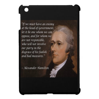"Alexander Hamilton ""Enemy Leader"" Gift iPad Mini Covers"
