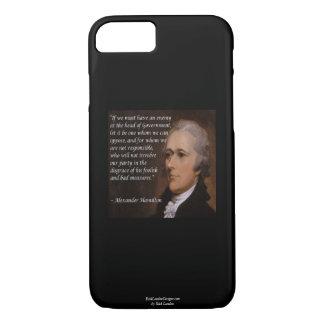 """Alexander Hamilton """"Enemy Leader"""" Smartphone Cases"""