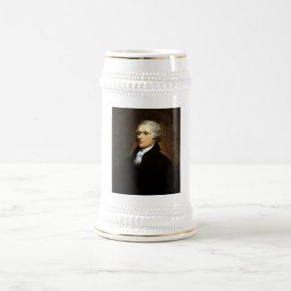 Alexander Hamilton -- Founding Father Beer Stein