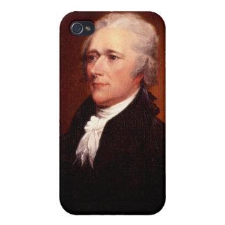 Alexander Hamilton iPhone 4 Protectores