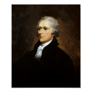 Alexander Hamilton -- Fundador Poster