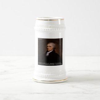 Alexander Hamilton Gifts Beer Stein