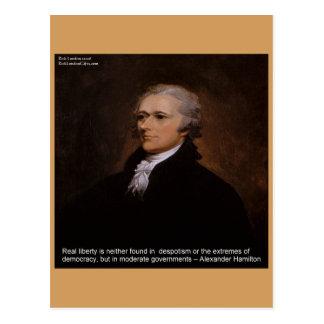 Alexander Hamilton Gifts Postcard