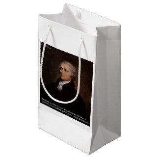 Alexander Hamilton Gifts Small Gift Bag