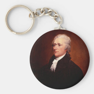 Alexander Hamilton Llavero Redondo Tipo Pin