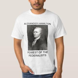 Alexander Hamilton más astuta de los federalistas Remeras