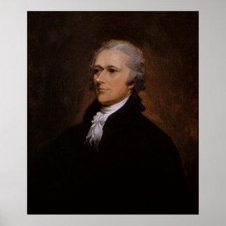 Alexander Hamilton portrait by John Trumbull Poster