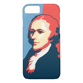 Alexander Hamilton Poster Style Portrait iPhone 7 Case